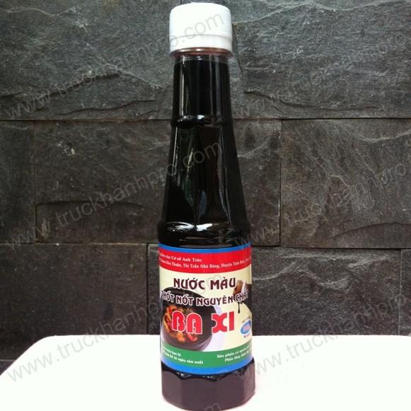 Nước màu thốt nốt Ba Xi chai 220ml (Đường thốt nốt đắng Ba Xi)