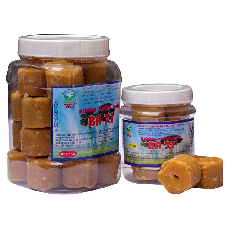 Ba Xi Palmyra Sugar 1 Kg (Plastic Jar)