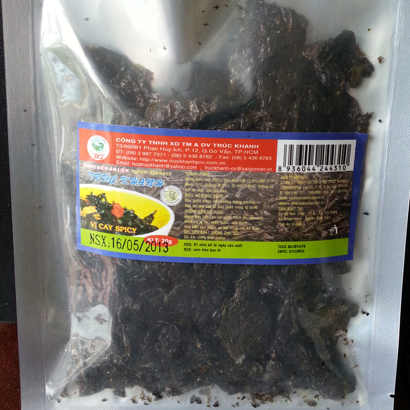 Seaweed noodle spicy (20g)